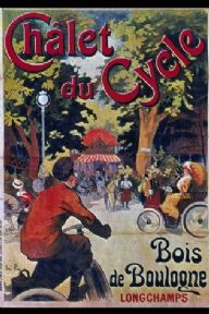 Vintage French cycling poster - Chalet du Cycle